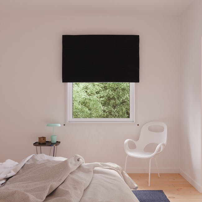 Complete Blackout Magnetic Window Cover - Charcoal - 2
