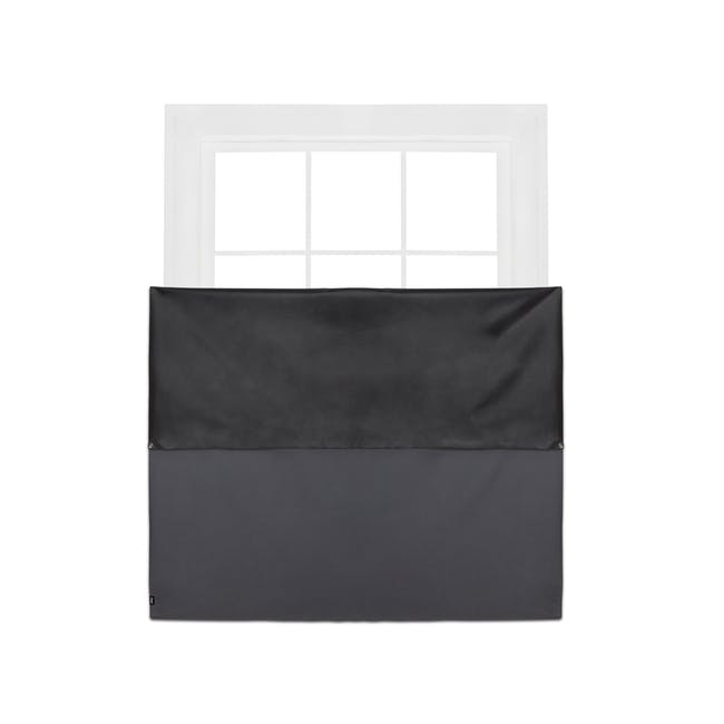 Complete Blackout Magnetic Window Cover - Charcoal - 9