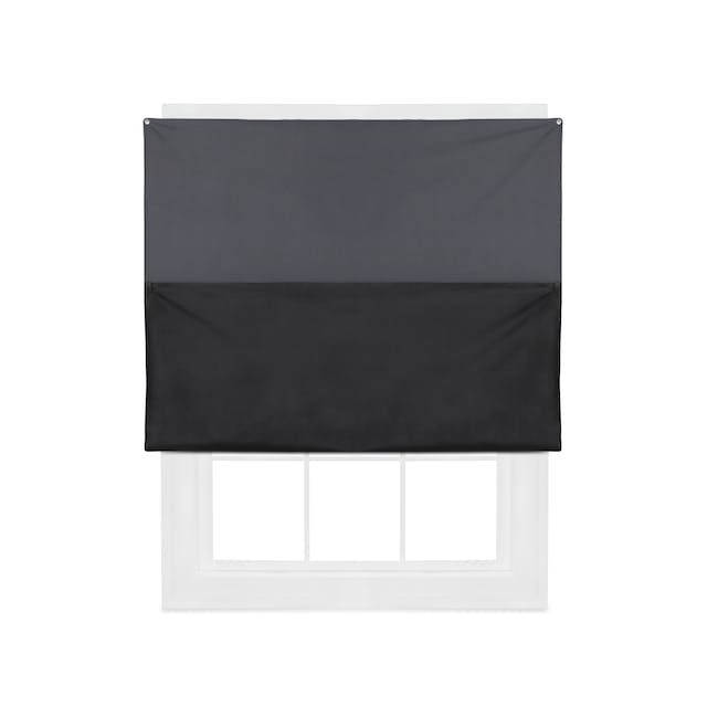 Complete Blackout Magnetic Window Cover - Charcoal - 5