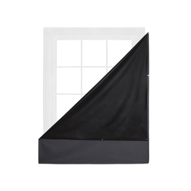 Complete Blackout Magnetic Window Cover - Charcoal - 8