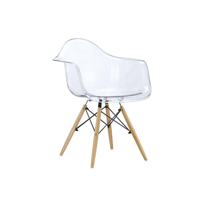 DAW Chair Replica - Natural, Clear - 10