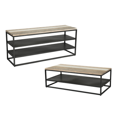 Xavier TV Console 1.3m with Xavier Coffee Table - Image 1