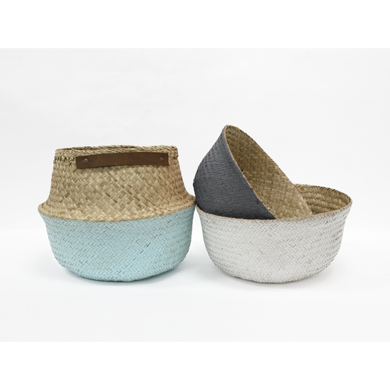 Stitches and Tweed - Grico Basket - Grey