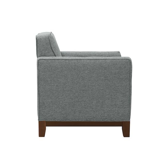 Byron 3 Seater Sofa with Byron Armchair - Siberian Grey - 6