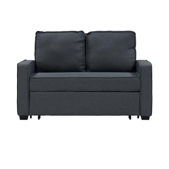 Arturo 2 Seater Sofa Bed - Granite, Sofa beds by HipVan | HipVan