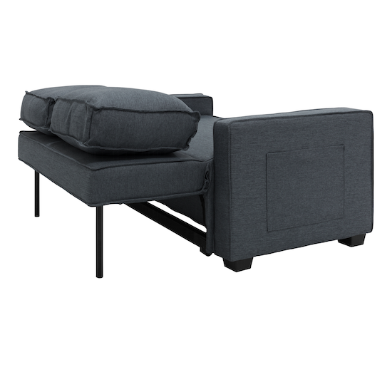 Arturo 2 Seater Sofa Bed Granite
