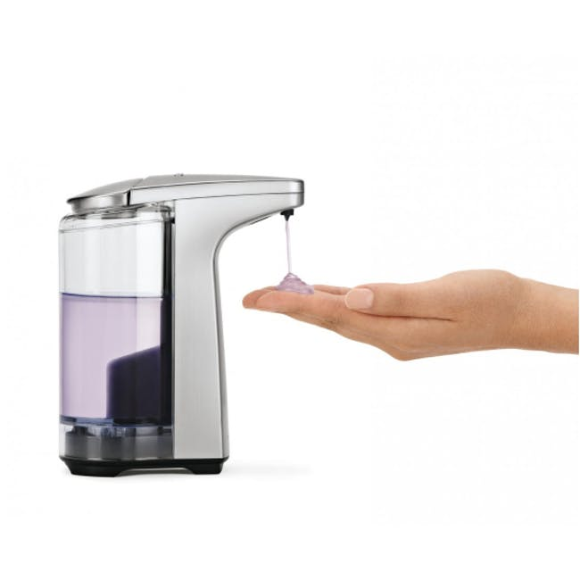 simplehuman Compact Sensor 8oz Soap Pump - Brushed - 1