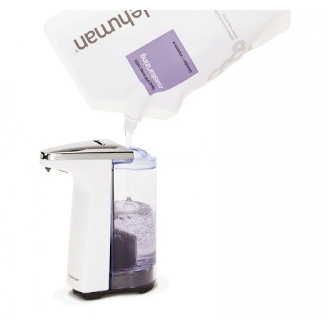 simplehuman Compact Sensor 8oz Soap Pump - Brushed - 2