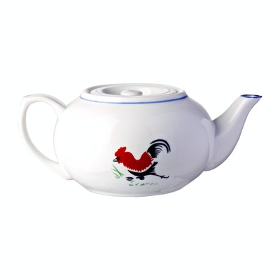 Rooster 25 oz. Tea Pot