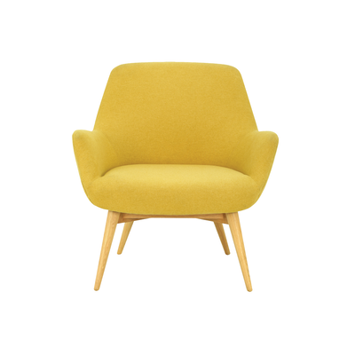 Belinda Lounge Chair - Yellow - Image 2