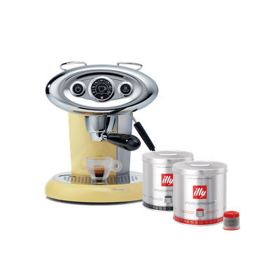 (Limited Edition) illy X7.1 iperEspresso Coffee Machine - Sunrise - Image 1
