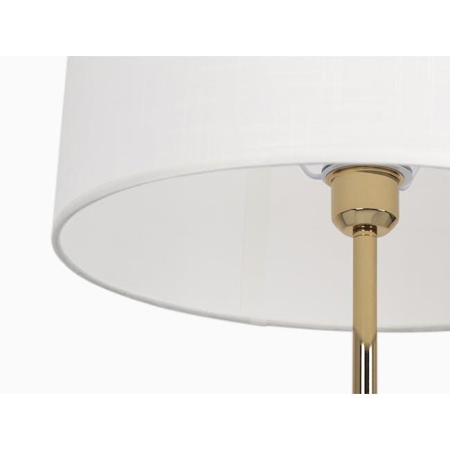 Alyssa Floor Lamp - Brass - 1