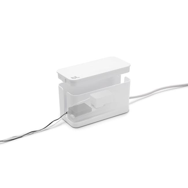 Bluelounge CableBox Mini - White - 2