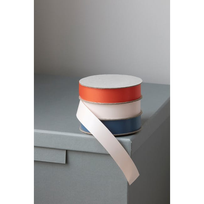 Polly Ribbon - Blue, Blush, Orange (Set of 3) - 2