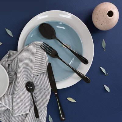 BLACK Cutlery Dinner Fork - Image 2
