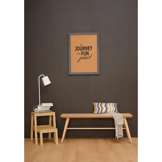 Malmo - Marrim Bench 1.2m - Graphite Grey