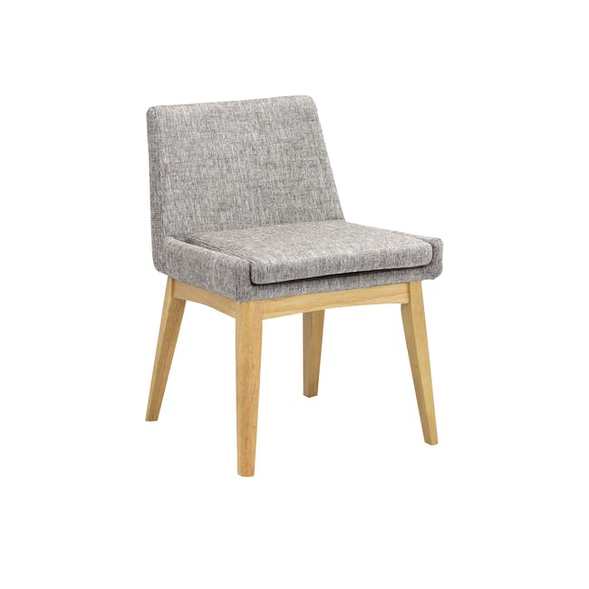 Fabian Dining Chair - Natural, Pebble - 0