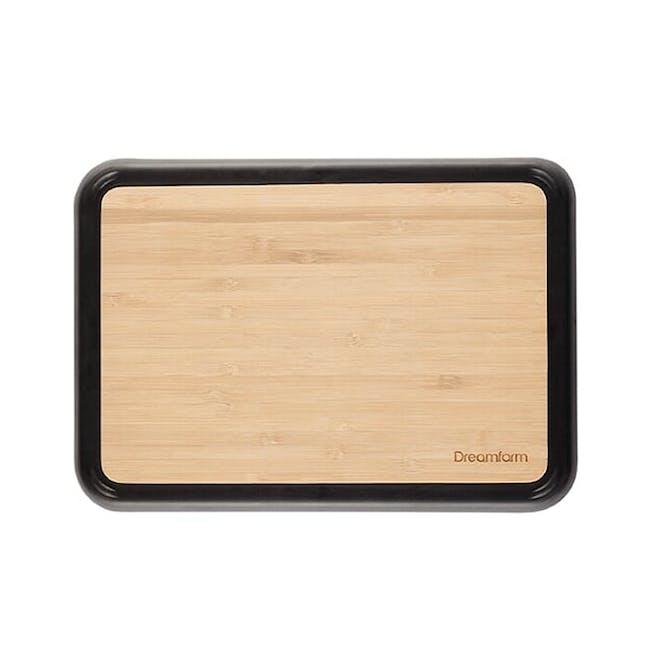 Dreamfarm Fledge Flip Edge Cutting Board - Bamboo - 0