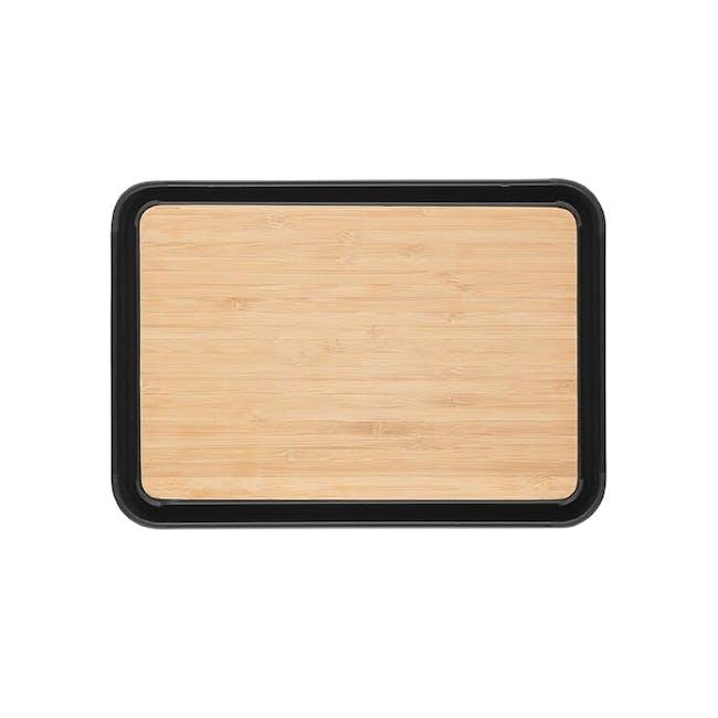 Dreamfarm Fledge Flip Edge Cutting Board - Bamboo - 6