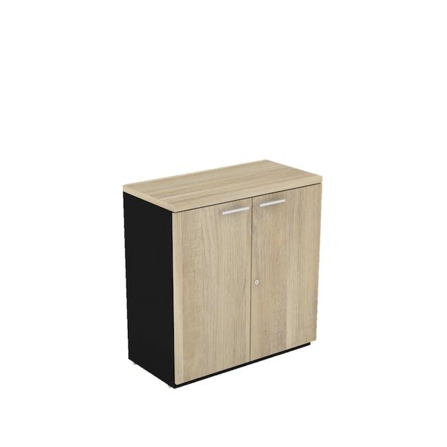Archie Low Cabinet - Black - 0