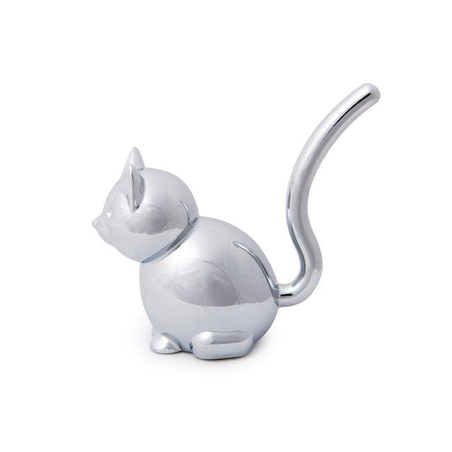 Zoola Cat Ring Holder - Chrome - 3