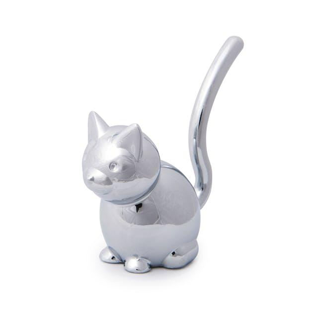 Zoola Cat Ring Holder - Chrome - 2