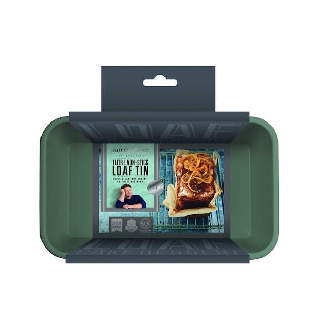 Jamie Oliver Atlantic Green Non-Stick Loaf Tin (2 Sizes) - 7