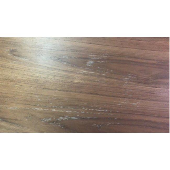 (As-is) Myron Rectangle Coffee Table - Walnut, Matt Silver - 5 - 2
