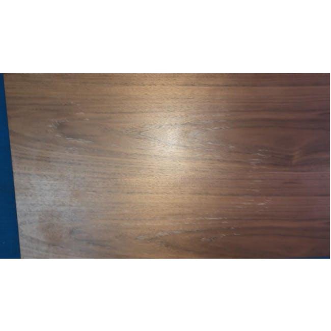 (As-is) Myron Rectangle Coffee Table - Walnut, Matt Silver - 5 - 7