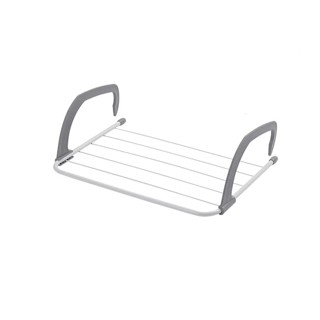 HOUZE Wall Hanging Radiator Drying Airer (2 Sizes) - 0