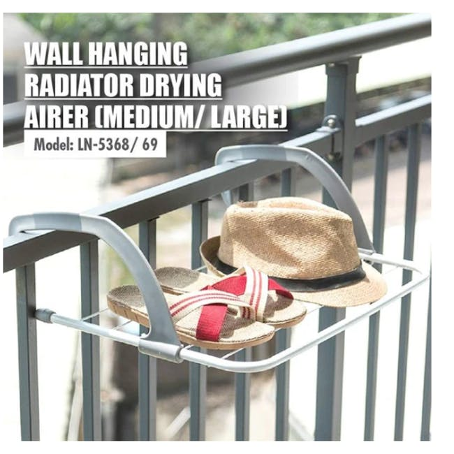 HOUZE Wall Hanging Radiator Drying Airer (2 Sizes) - 5