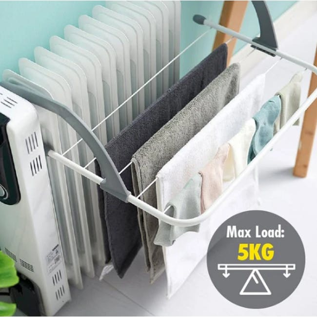 HOUZE Wall Hanging Radiator Drying Airer (2 Sizes) - 4