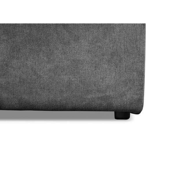 Ashley 3 Seater Lounge Sofa - Granite - 8