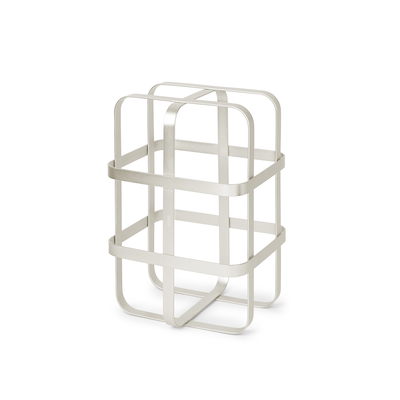 Pulse Wine Rack - Nickel - Image 1
