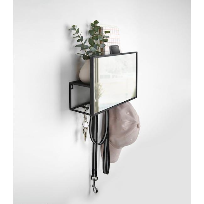 Cubiko Wall Mirror with Storage - 4