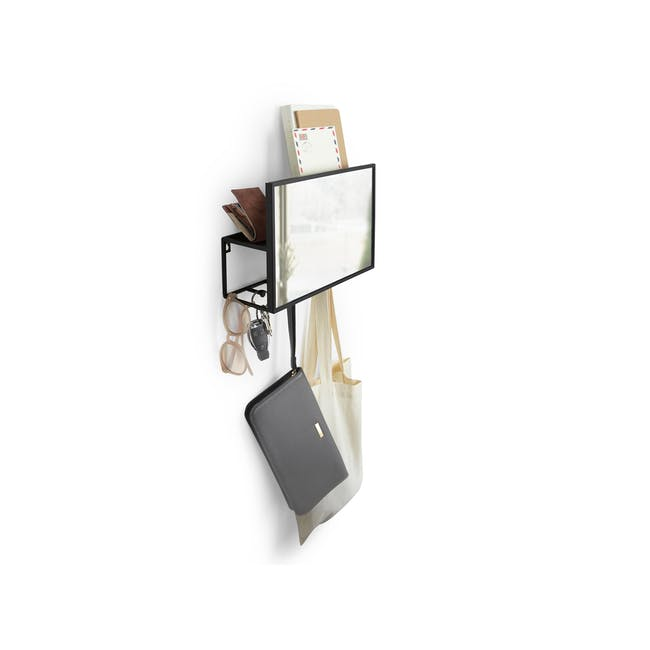 Cubiko Wall Mirror with Storage - 1