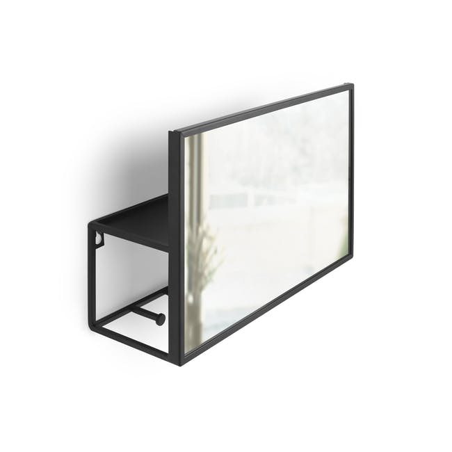 Cubiko Wall Mirror with Storage - 2