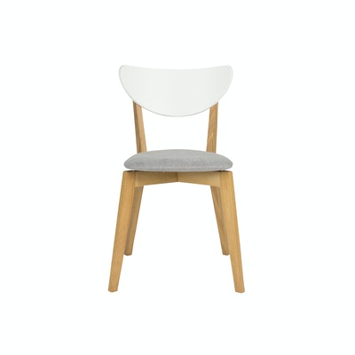 Harold Dining Chair - Natural Grey - Image 2