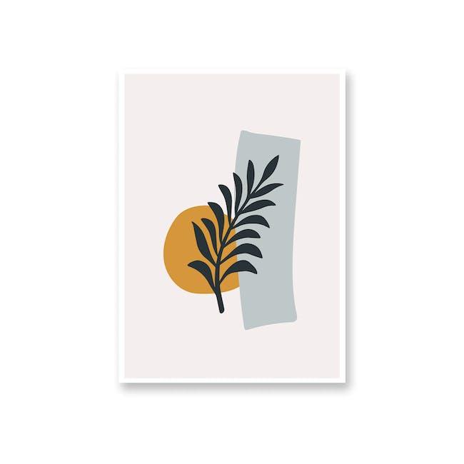 Borderless Abstract Art Print on Paper (2 Sizes) - Fern - 0