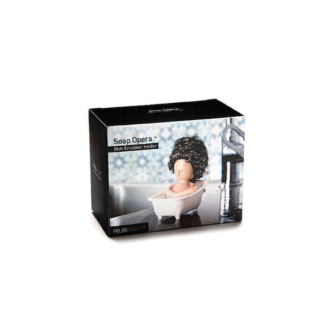 PELEG DESIGN Soap Opera Dish Scrubber Holder - 5