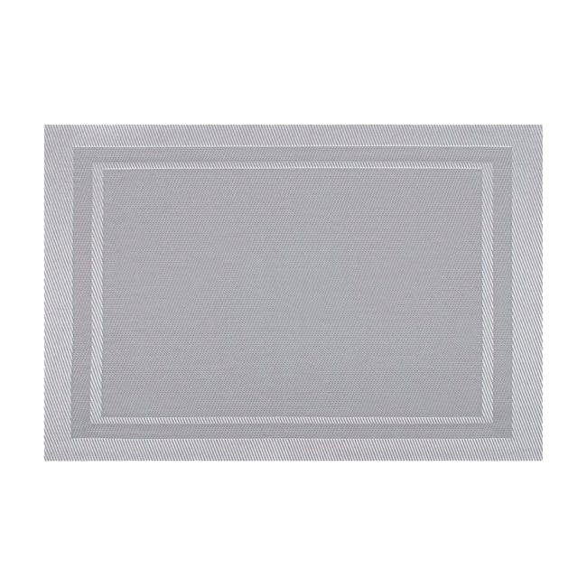CORNICE Placemat - Silver - 0