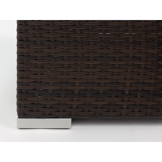 MLM Outdoor - Beldene Modular L-Shaped Outdoor Sofa Set - Burnt Orange