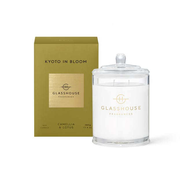 Triple Scented Soy Candle - Tokyo in Bloom - 380g - 0