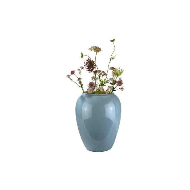 Deyma Vase 35 cm - Blue - 0