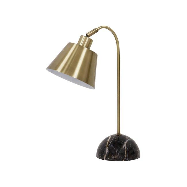 Charlotte Table Lamp - Brass - 1