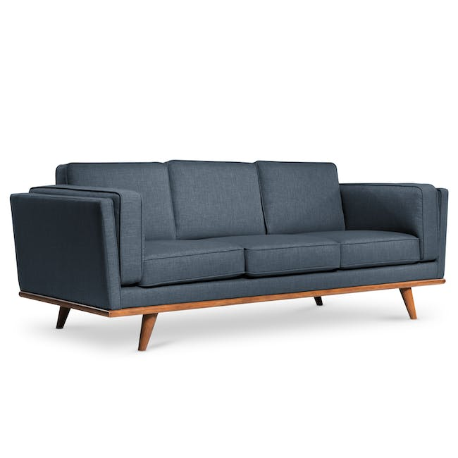 Carter 3 Seater Sofa - Space Blue - 2