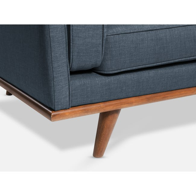 Carter 3 Seater Sofa - Space Blue - 5