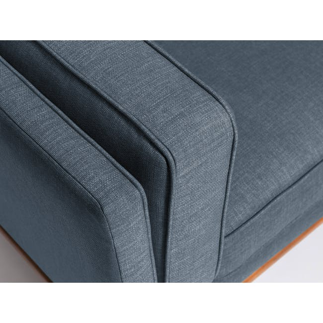 Carter 3 Seater Sofa - Space Blue - 7