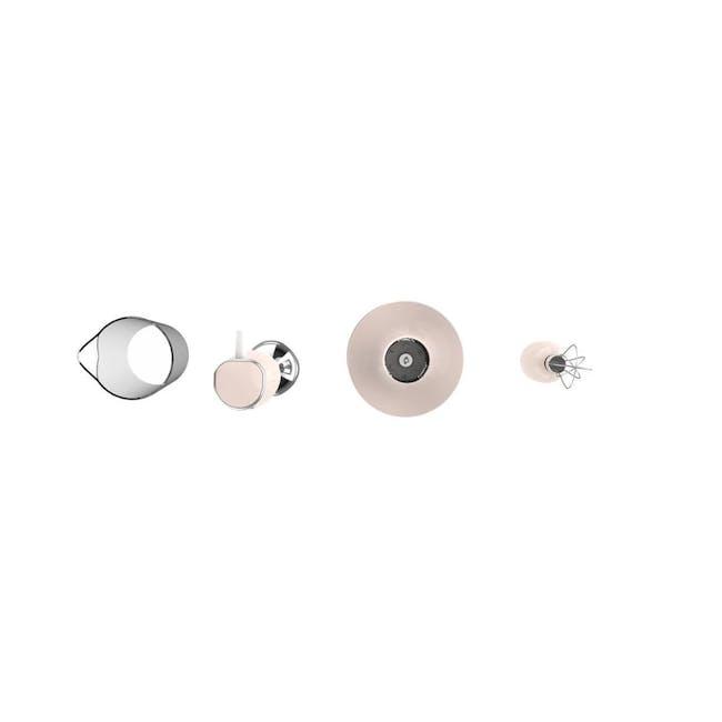 Odette Multifunction Immersion Handheld Blender - Pink - 1