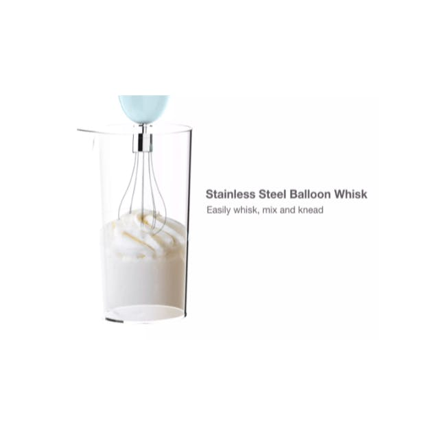 Odette Multifunction Immersion Handheld Blender - Pink - 8